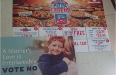 Domino's: We're not distributing No campaign leaflets with our menus
