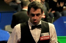 Major shock at the Crucible as The Rocket crashes out