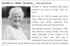 This grandmother's obituary has one very interesting detail