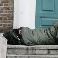 The number of people sleeping rough in Dublin has just had the biggest decrease ever