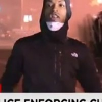 Outcry as Baltimore protester is snatched into a truck live on TV