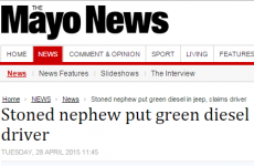 This headline in the Mayo News missed out on a serious pun opportunity