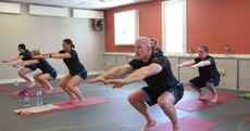 Bikram Yoga with Paul O'Connell is as good a cause of death as any
