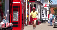 A real life Forrest Gump will finish running the length of Britain today