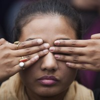 Indian girl falls to death after being groped and pushed off bus
