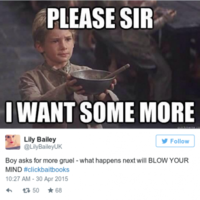 #ClickbaitBooks took over Twitter today and it was glorious