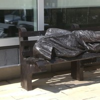 Homeless Jesus statue set to be unveiled in Dublin