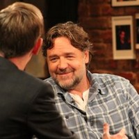 Russell Crowe was fooled by a satirical article about himself on Twitter