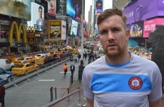 From Wexford to New York - PJ Banville has taken his love of football across the Atlantic