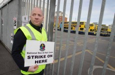 Travel disruption continues on second day of bus strike