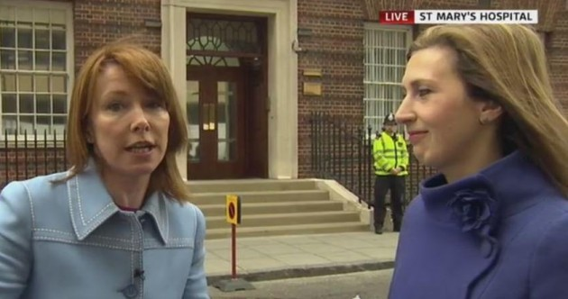 Kay Burley spent the morning reporting on, essentially - nothing. People were mesmerised