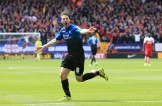Ireland's Harry Arter fires Bournemouth to Championship title while Daryl Murphy secures Ipswich playoff spot