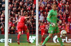 Gerrard the match winner as late header keeps Liverpool's top four hopes alive