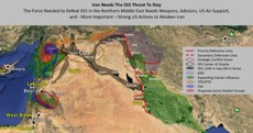 This map proves that Iran doesn't really want to defeat ISIS in Iraq and Syria