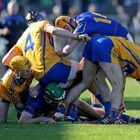 Farewells, shemozzles and scores - 29 of this year's best hurling league pictures