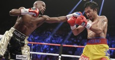 Floyd Mayweather puts on defensive masterclass to beat Manny Pacquiao by unanimous decision