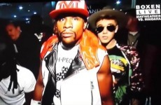 Jimmy Kimmel brilliantly ripped the piss out of Justin Bieber at last night's Mayweather fight
