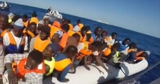 Migrant crisis: Almost 3,700 people rescued in Mediterranean - since yesterday morning