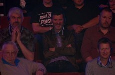 Roy Keane's at the Crucible and Dennis Taylor said Fergie would beat him at snooker