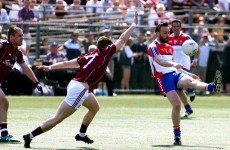 Damien Comer the king of New York as Galway get their championship up and running