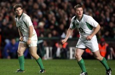 Gordon D'Arcy and Brian O'Driscoll traded glorious hair-related burns on Twitter earlier