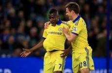 One of Chelsea's key men has spoken about being rushed to hospital yesterday