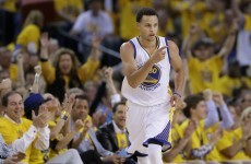 Another effortlessly cool piece of brilliance from the new NBA MVP, Steph Curry