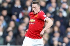 Sorry, what? Phil Jones ranked as the best young defender in Europe