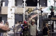 Video: Libyan rebels take Gaddafi compound - but no sign of Muammar