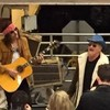 A disguised U2 busked at New York's Grand Central station