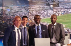 Someone tell Eric Abidal he has got his ex-Man United strikers mixed up