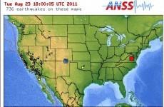 5.9-magnitude earthquake strikes eastern United States