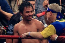 Gamblers in Vegas are suing Manny Pacquiao for not revealing his shoulder injury