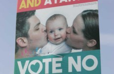 "The No vote campaign poster couple ""are appalled"" at their image being used"