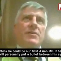 UKIP candidate filmed threatening to 'put a bullet' in rival candidate