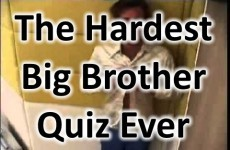 The Hardest Big Brother Quiz Ever