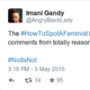 Feminists took over the #HowToSpotAFeminist hashtag and it was wonderful
