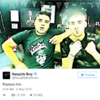 Zayn Malik and Louis from One Direction are having a full blown Twitter scrap