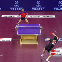 Untangle that table tennis net, because this 25-shot rally will make you want to play right now