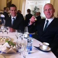 Snapshot: Ireland's World Cup squad head to Áras an Uachtaráin