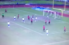 This double bicycle kick goal is the best thing you'll see today