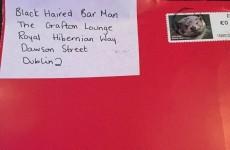A smitten Dublin woman is seeking her mystery 'black haired barman'