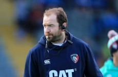 Geordan Murphy given 3-year contract in a young looking Leicester Tigers coaching ticket