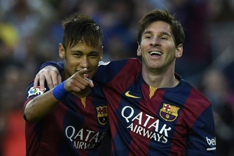 Messi and Neymar have linked up well this season.