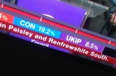 BBC made a pretty spectacular typo during its election coverage last night