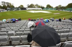 Rain sweeps over sold-out Malahide as showcase fixture washed out