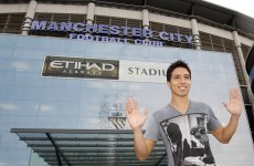 Samir Nasri completes Man City move