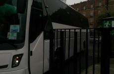 The Treviso bus driver made a complete mess of parking at the RDS