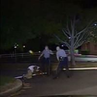 WATCH: Police officer charged with kicking black man in the face