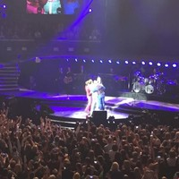 Take That took an ambitious selfie with the Dublin crowd last night